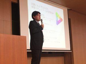 猪俣先生の講演