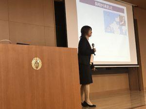松崎先生の講演