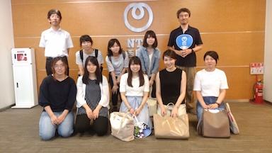 NTT西日本京都支店施設見学